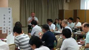 外国人在留資格研究会創設者黒澤信夫先生によるご挨拶