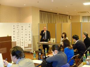 外国人在留資格研究会創始者である、黒澤信夫先生からのご挨拶。