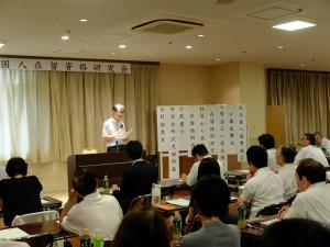 木村先生の講義風景 1