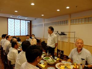 研修後の懇親会にて 木村先生からご挨拶
