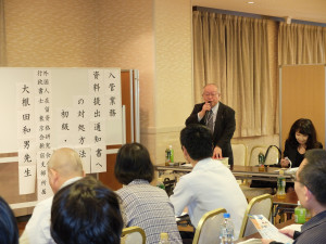 外国人在留資格研究会創設者の黒澤信夫先生からご挨拶